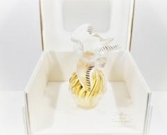 Flacon L'AIR Du TEMPS De NINA RICCI PARFUM 15 Ml Flacon LALIQUE COLOMBE CRISTAL D'OR  Edition Limitée  593 / 900 + Boite - Perfumes (nuevo Y Original)