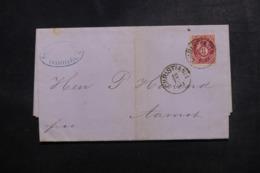 NORVÈGE - Lettre De Christiania En 1873, Affranchissement Plaisant - L 48122 - Norvège