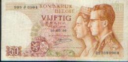 BELGIQUE 50 Francs 1966 - [ 2] 1831-... : Royaume De Belgique