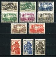 Guinea (Francesa) Nº 158/68 Nuevo Cat.12,70€ - Guinea Francesa (1892-1944)