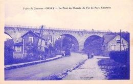 91 .n°106644 . Orsay .le Pont Du Chemin De Fer De Paris Chartres . - Orsay