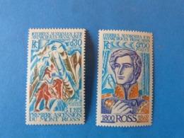 TAAF Annee 1976 Numeros 61 Et 62 Cote 14 Euros - Terres Australes Et Antarctiques Françaises (TAAF)