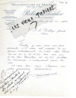 61 - Orne - TINCHEBRAY - Facture LEBOUCHER - Scierie, Manufacture De Meubles - 1941 - REF 126 - France