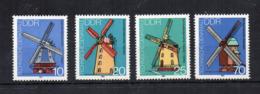 GERMANIA DDR - 1981 - Architettura - Mulini - 4 Valori - Nuovi ** -  (FDC18546) - Nuovi