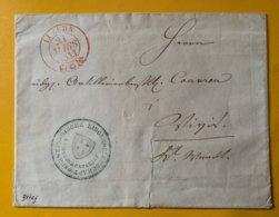 9249 - Luzern 24.03.1843 Lettre Officielle Pour Vevey - Suisse