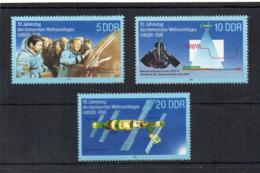 GERMANIA DDR - 1988 - Spazio - 3 Valori - Nuovi ** -  (FDC18547) - Nuovi