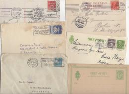 10 Lettres Et Cartes + 1 Cadeau Prix De Départ Sans Réserve 1€ Voir 2 Scan.  Bonnes Enchère     Lot Delc Danemark, 2° - Interi Postali