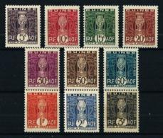 Guinea (Francesa) Nº Tasa-26/35 Nuevo* - Guinea Francesa (1892-1944)