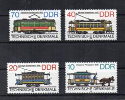 GERMANIA DDR - 1986 - Trasporti - TRENI - 4 Valori - Nuovi ** -  (FDC18549) - Nuovi