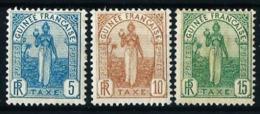 Guinea (Francesa) Nº Tasa-1/3 Nuevo* - Nuevos