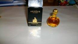"""Miniature De Parfum  Lanvin """" Arpège  """" Eau De Parfum Pleine - Miniatures Femmes (avec Boite)"""