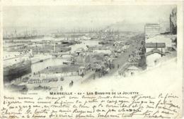 FR13 MARSEILLE - La Joliette - Lacour 62 - Précurseur - Les Bassins - Animée - Belle - Joliette, Zone Portuaire