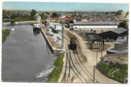 17-MARANS-Le Port...1960  Train... - Francia