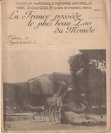 PROTEGE CAHIERS - PARC ZOOLOGIQUE DU BOIS DE VINCENNES - LE PLUS BEAU ZOO AU MONDE - Animales