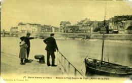 SAINT VALERY EN CAUX =   Bassin à Flot  Hotel De La  Paix  1115 - Saint Valery En Caux
