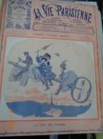 La Vie Parisienne.année 1908.deuxième Semestre.26 Numéros.du 4 Juillet 1908 Au 26 Décembre 1908. - Bücher, Zeitschriften, Comics