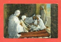 GIOCHI CARTE-FOLKLORE ARABO -ARABIC FOLK - FOLK ARABE- TUNISIA-ALGERIA-MAROCCO-EGITTO-LIBIA - - Carte Da Gioco