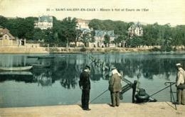 SAINT VALERY EN CAUX =   Bassin à Flot  Et Cours De L'est 1116 - Saint Valery En Caux