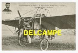 DF / AVIATION / AVION / L' AÉROPLANE BLÉRIOT N° VIII Bis / VU D' AVANT - LE MOTEUR ET LES HÉLICES / BLÉRIOT EN MÉDAILLON - ....-1914: Vorläufer