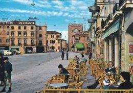 MESTRE - VENEZIA - PIAZZA FERRETTO - INSEGNA PUBBLICITARIA COCA COLA / RECOARO / BIRRA ITALA PILSEN - Venezia (Venice)