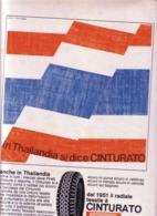 (pagine-pages)PUBBLICITA' PIRELLI   Tempo1968/22. - Other