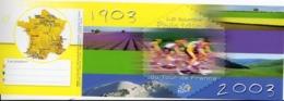 Timbres - Souvenir Philatélique - Tour De France Cycliste - Bloc Souvenir (neuf SANS Blister) - 2003 - Blocs Souvenir