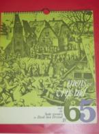 Kalender Calendrier - 1965 - Pub Reclame Bank Van Brussel - Calendriers