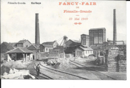 Flémalle-Grande - Marilhaye - Charbonnage - Pub: Fancy-Fair, 23 Mai 1909 - Pirard - Circulé: 1909 - 2 Scans. - Flémalle
