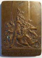 MEDAILLE   XVl CONCOURS NATIONAL ET INTERNATIONAL DE TIR - LE MANS 1909 SIGNEE F.RASUMNY D'APRES CROISY - France