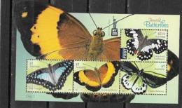 AUSTRALIE Bloc Feuillet N °212**Faune Papillons - Blocs - Feuillets