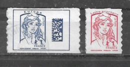 FRANCE  Adhésifs  Yvert  N° 1176 Et 1214  Oblitérés - Adhesive Stamps