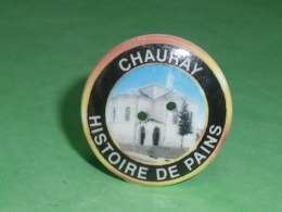 Fèves / Autres / Divers / Régions  : Bouton , Chauray , Histoire De Pain , Perso T119 - Regiones