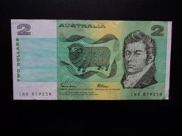 AUSTRALIE : 2 DOLLARS   ND 1985     P 43e      TTB+ - Emissions Gouvernementales Décimales 1966-...