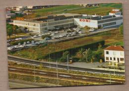 CPSM 06 - VILLENEUVE LOUBET - KONI Amortissuers - TB PLAN Aérien USINE INDUSTRIE + Routes VOIE CHEMIN DE FER - France