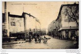 Aubagne - Rue De La République (animée, Attelage) - Aubagne