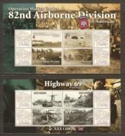 Ghana MNH Limited Edition Set 2 WORLD WAR 2 OPERATION MARKET GARDEN - 2. Weltkrieg