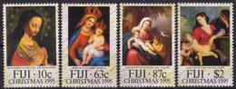 Fidji, 1995, 753/56,  MNH **, Weihnachten: Gemälde. - Fiji (1970-...)