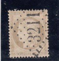 France - Cérès 1871-1875 - N°Y.T 56 - Gros Chiffre - 30c Brun - Oblit. Losange 3211 - 1871-1875 Ceres