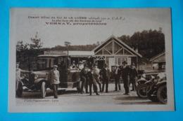 CPA 69 MONTS DU LYONNAIS POLLIONNAY  St PIERRE LA PALUD COL DE LA LUERE CHALET HÔTEL RARE ANIME VOITURE Canton VAUGNERAY - Sonstige Gemeinden