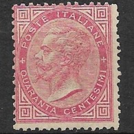 Italia - Italy 1863, Without Gum - 1861-78 Victor Emmanuel II.