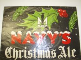 Affiche Poster Pub Reclame - Bier Navy's Christmas Ale - Affiches