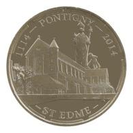 Monnaie De Paris , 2014 , Pontigny , St Edme , 1114-2014 - Monnaie De Paris