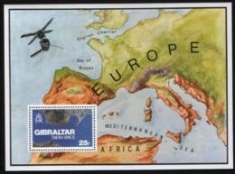 Gibraltar 1978. From Space.   MNH - Espacio