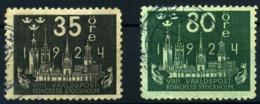Suecia Nº 169, 174. Año 1924 - Sweden