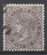 España U 0098 (o) Isabeñ II. 1867. Foto Exacta. - 1850-68 Reino: Isabel II