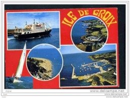 """56 ILE  DE GROIX     ..le   Jean Pierre Calloch """"  Port Tudy A Port Lay  Les  Grands Sables Port Tudy - Groix"""