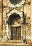 Italy Verona Basilica Di S. Zeno Il Portale, St Zeno Basilica Portal - Autres