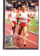 3524 Mémorial Van Damme - Steve Ovett - Cartoline Maximum