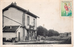 77- JUILLY - LA GARE DE JUILLY VILLE   -ANIMATION - - France