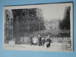VAUJOURS  (Seine St Denis) -- Rue De Coubron - Grille Du Château - ANIMEE - France